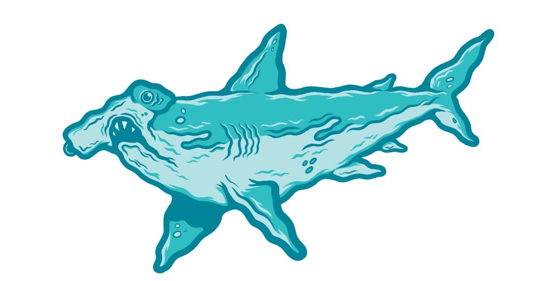 shark sticker v1