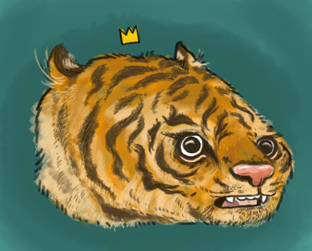 tiger head copy copy